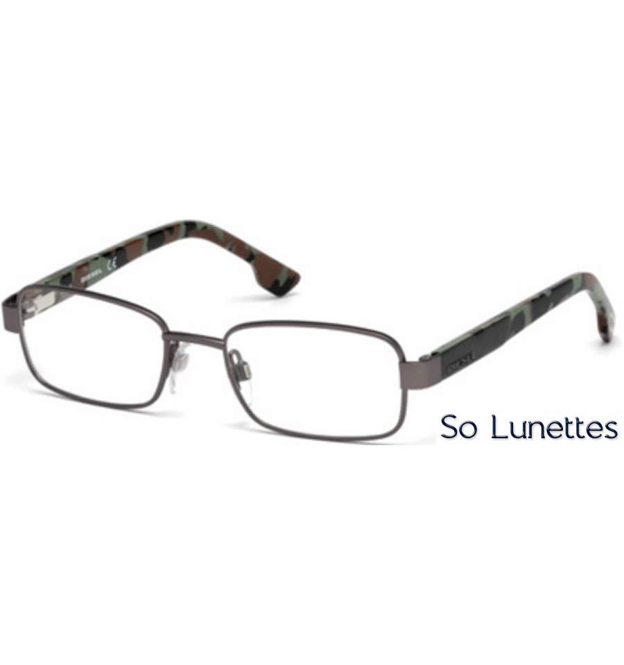 diesel dl5227 009 anthracite opaque so lunettes. Black Bedroom Furniture Sets. Home Design Ideas