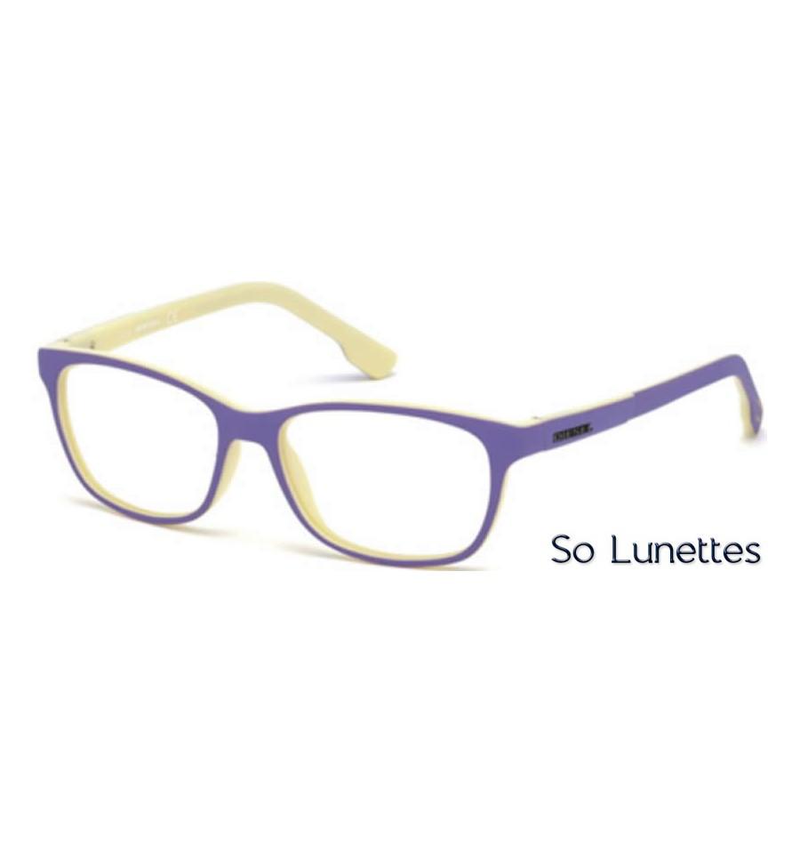 diesel dl5226 083 violet so lunettes. Black Bedroom Furniture Sets. Home Design Ideas