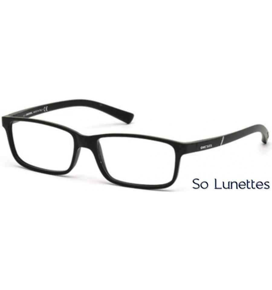 diesel dl5179 002 noir opaque so lunettes. Black Bedroom Furniture Sets. Home Design Ideas