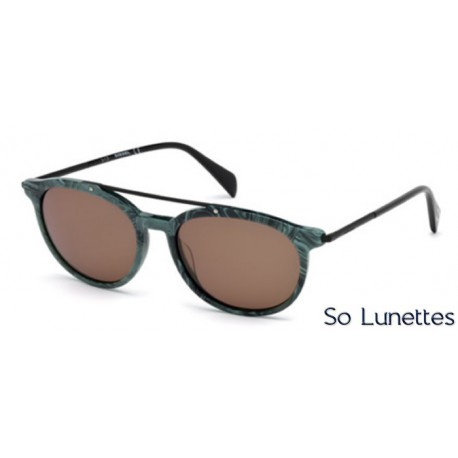 Lunette de soleil Diesel DL0188 98J Vert foncé - roviex 97bc71891267