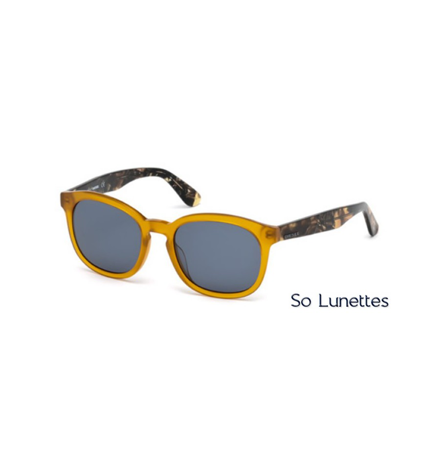 Lunette de soleil Diesel DL0190 41V jaune - bleu 73e8a1a7e8fc