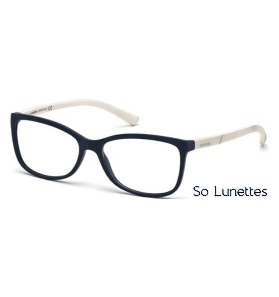diesel dl5175 091 bleu opaque so lunettes. Black Bedroom Furniture Sets. Home Design Ideas