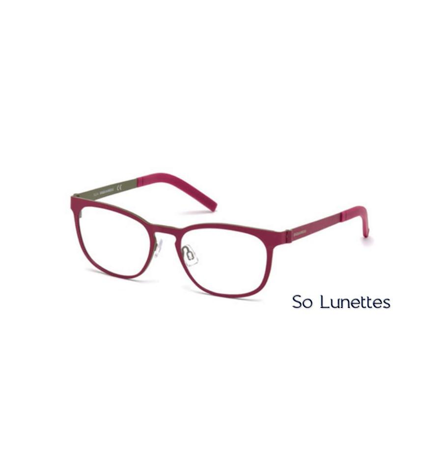 dsquared2 dq5184 068 rouge so lunettes. Black Bedroom Furniture Sets. Home Design Ideas