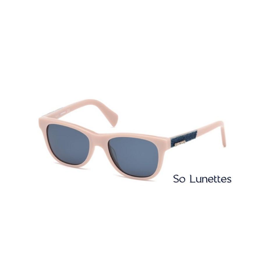 diesel dl0200 72v rose brillant bleu so lunettes. Black Bedroom Furniture Sets. Home Design Ideas