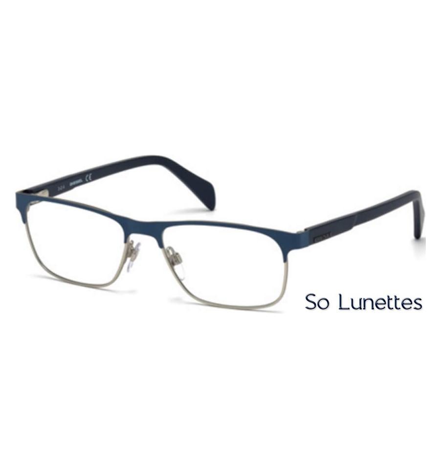 diesel dl5171 092 bleu so lunettes. Black Bedroom Furniture Sets. Home Design Ideas
