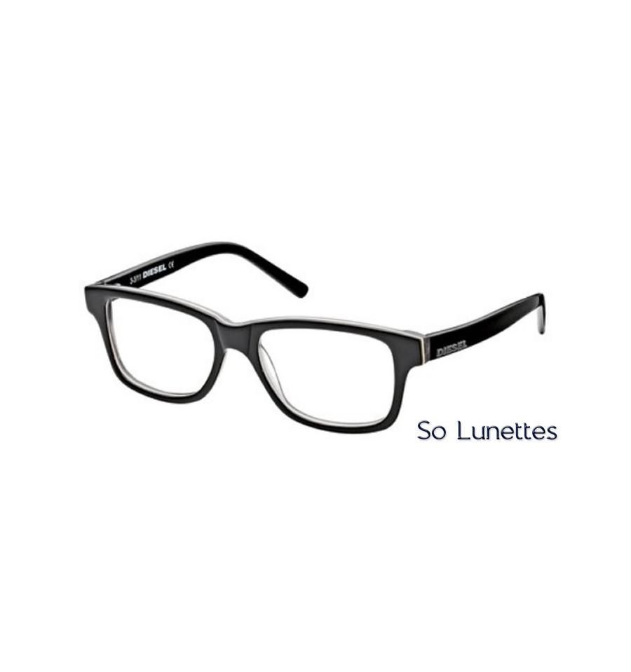 diesel dl5001 05a noir gris so lunettes. Black Bedroom Furniture Sets. Home Design Ideas