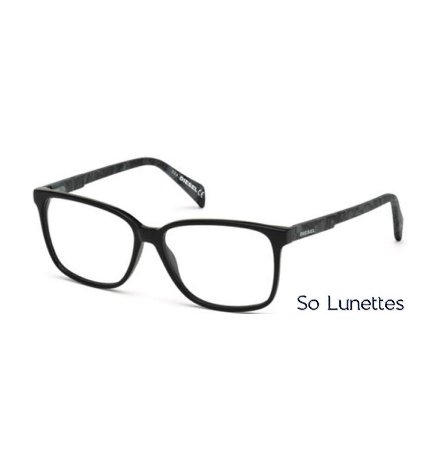 diesel dl5160 005 noir so lunettes. Black Bedroom Furniture Sets. Home Design Ideas