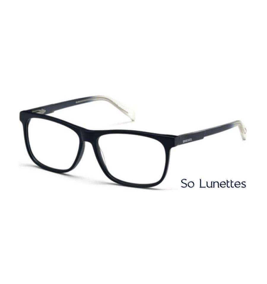 diesel dl5159 091 bleu opaque so lunettes. Black Bedroom Furniture Sets. Home Design Ideas