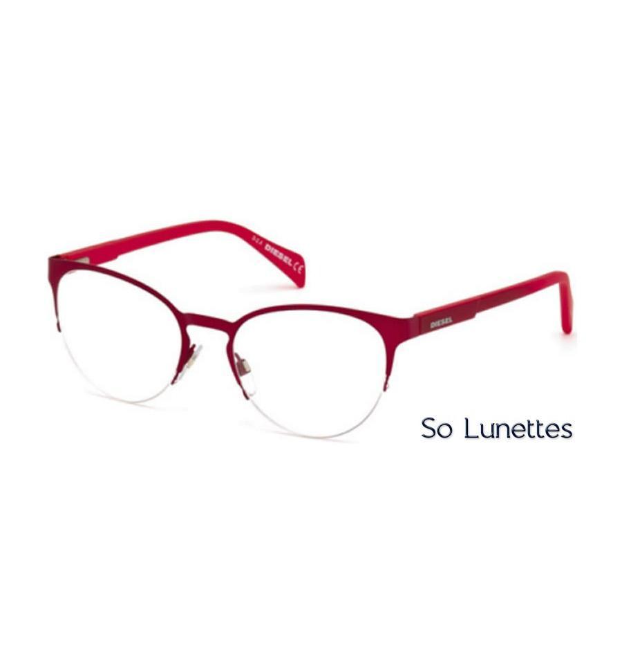 diesel dl5158 066 rouge brillant so lunettes. Black Bedroom Furniture Sets. Home Design Ideas