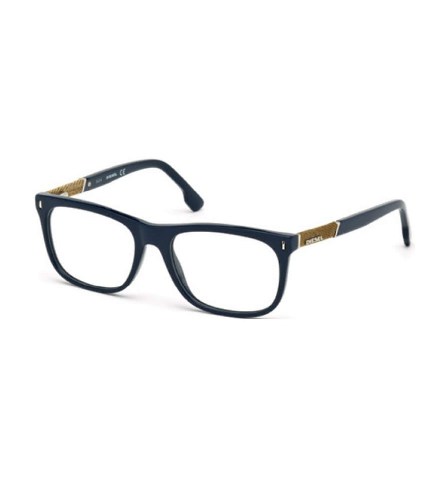 diesel dl5157 090 bleu brillant so lunettes. Black Bedroom Furniture Sets. Home Design Ideas