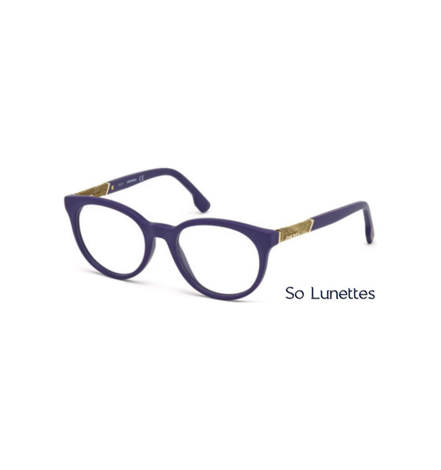 diesel dl5156 082 violet opaque so lunettes. Black Bedroom Furniture Sets. Home Design Ideas
