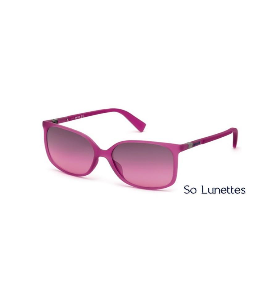 01238f7f8e2eec Lunette de soleil Just Cavalli JC727S 78Z Lilas brillant - violet fumé  et-ou miroité