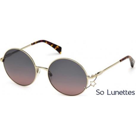 7dfe567965b9e9 Lunette de soleil Just Cavalli JC722S 33Z or - violet fumé