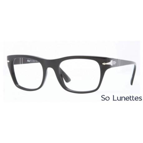 Lunette de vue Persol Femme 0PO3070V 95 monture noir f0a5c71551ef