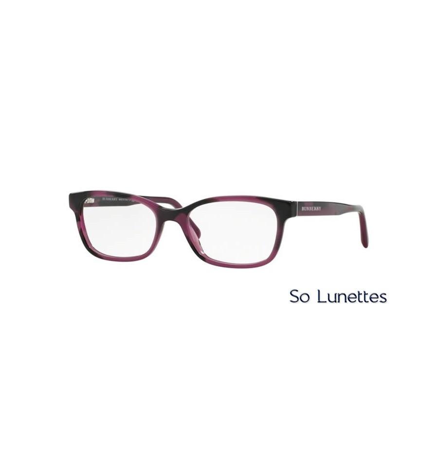680c643624c9ce Lunette de vue Burberry Femme 0BE2201 3519 monture Violet