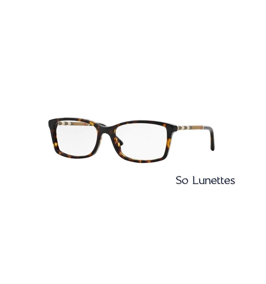 97d543d3e0dbb Lunette de vue Burberry Femme 0BE2120 3002 monture Ecaille