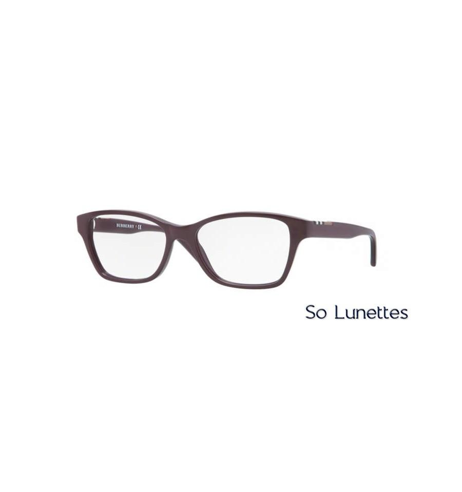 Lunette de vue Burberry Femme 0BE2144 3424 monture Violet cf18e7942674
