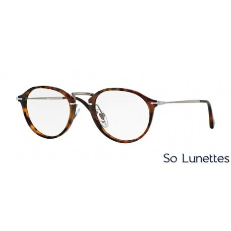 lunette de vue persol homme 0po3046v 108 monture ecaille. Black Bedroom Furniture Sets. Home Design Ideas
