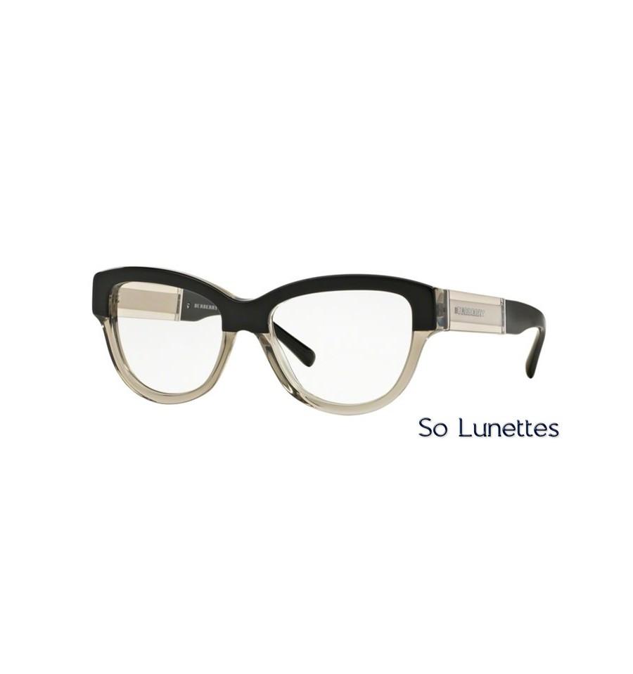 b16d664c49027b Lunette de vue Burberry Femme 0BE2208 3558 monture noir
