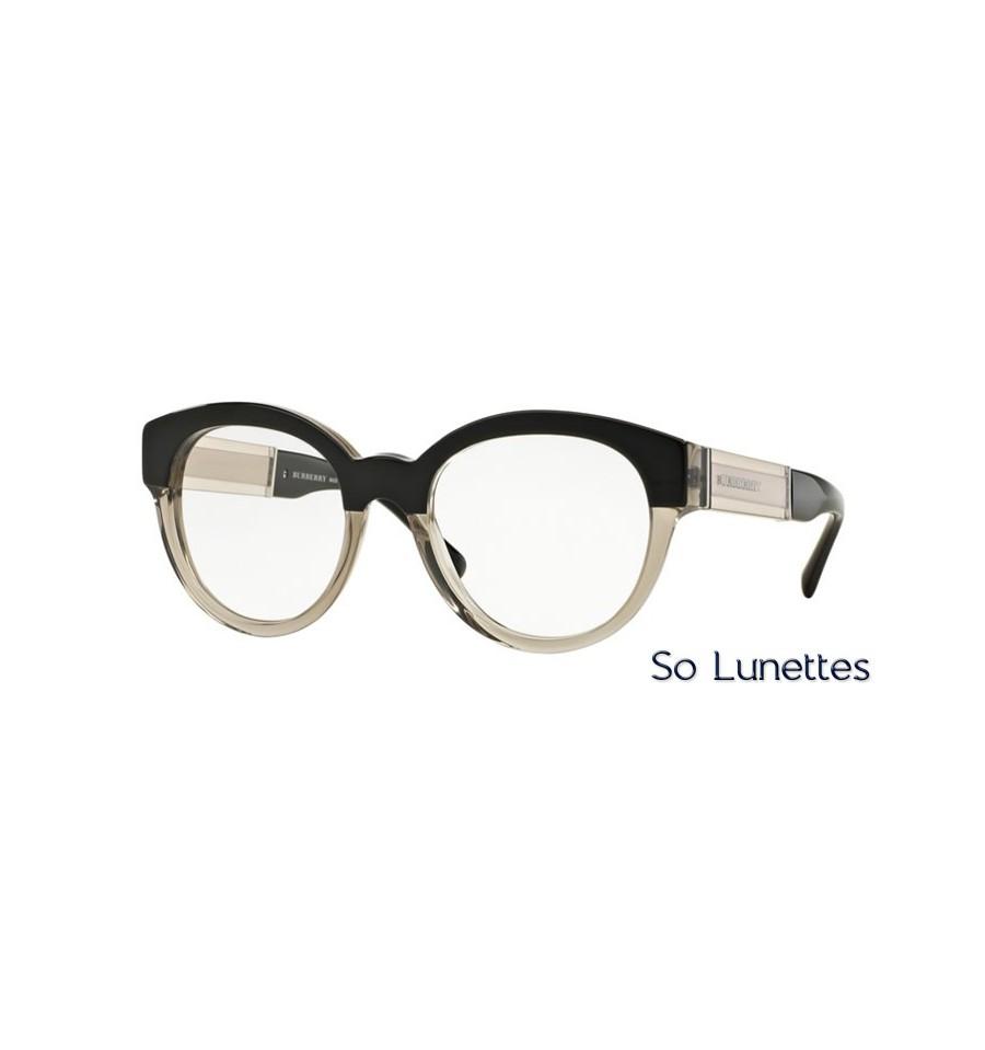 Lunette de vue Burberry Femme 0BE2209 3558 monture noir e96171623c3a