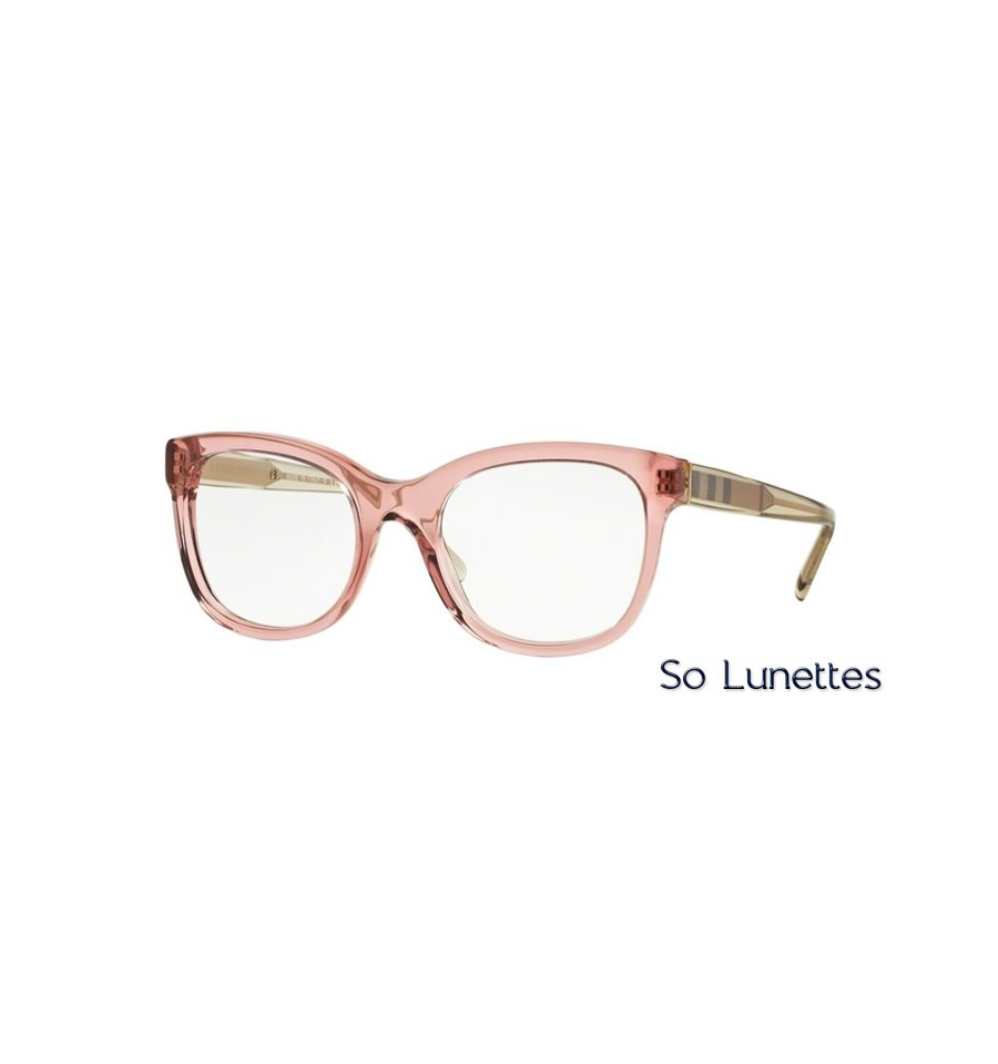 Lunette de vue Burberry 0BE2213 3565 Rose 2bc35f275f07