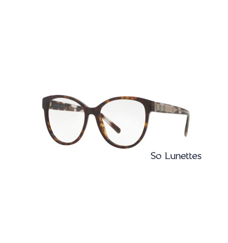 Lunette de vue Burberry Femme 0BE2229 3002 monture Ecaille ecf2839f8ff8