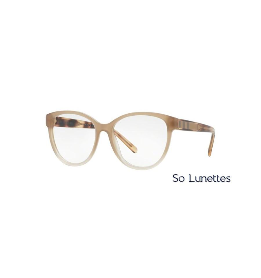 4aac4b434f53a9 Lunette de vue Burberry Femme 0BE2229 3354 monture beige