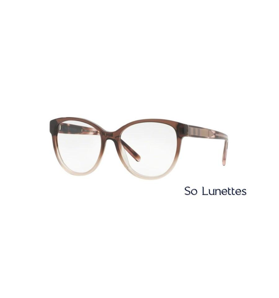 Lunette de vue Burberry Femme 0BE2229 3597 monture marron e9df1e94363d