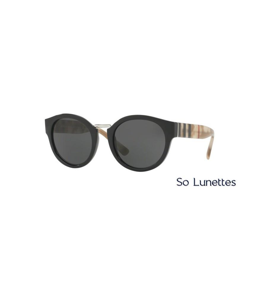 Lunette de soleil Burberry Femme 0BE4227 360087 monture Noir verres gris 2abf76a9b61c