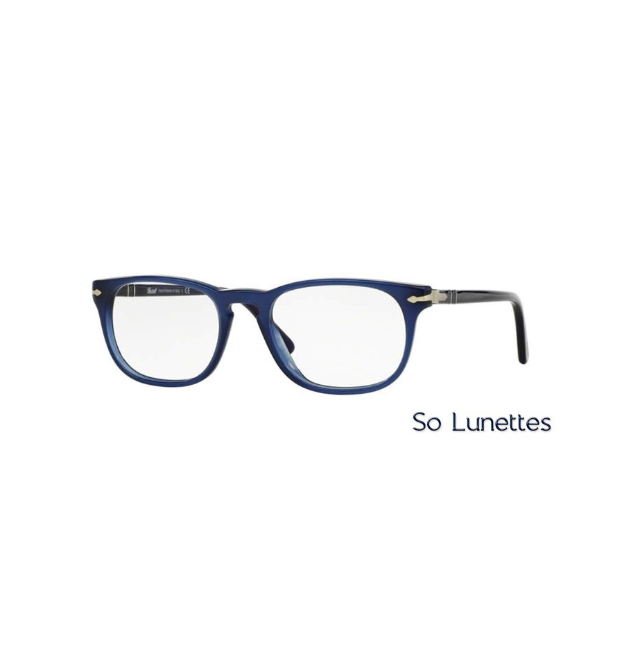 lunette de vue persol homme 0po3121v 1028 monture bleu. Black Bedroom Furniture Sets. Home Design Ideas