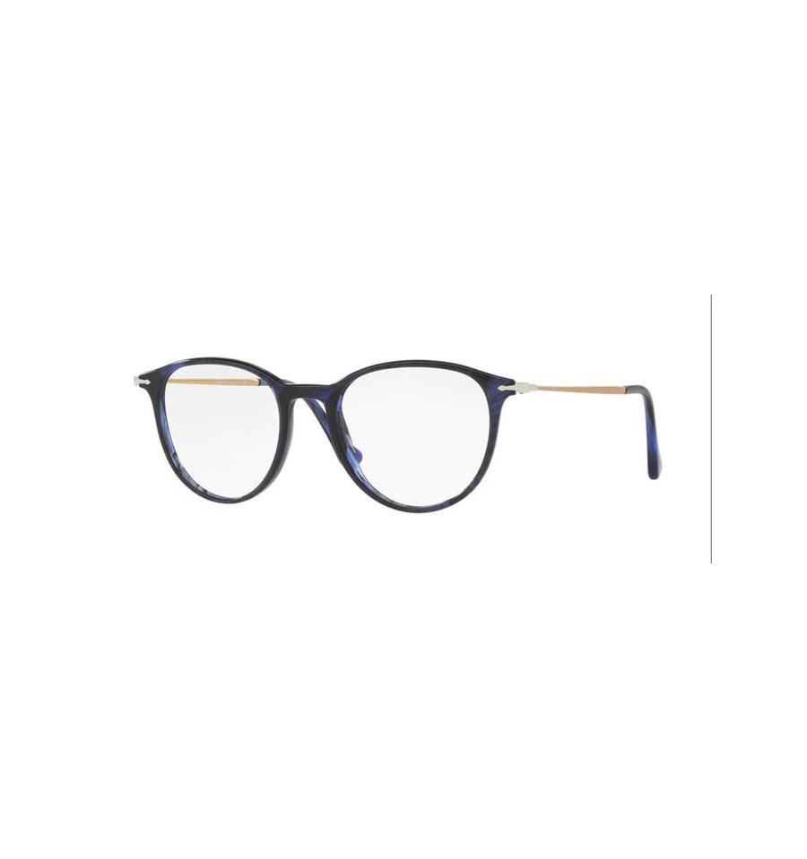 Lunette de vue Persol Homme 0PO3147V 1053 monture bleu a3d47828b9b8