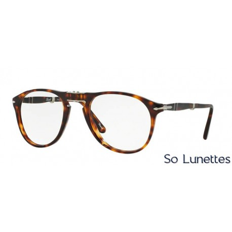 lunette de vue persol homme 0po9714vm 24 monture ecaille. Black Bedroom Furniture Sets. Home Design Ideas