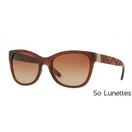 bf187085ed60 Lunette de soleil Burberry Femme 0BE4219 358313 monture Marron ...