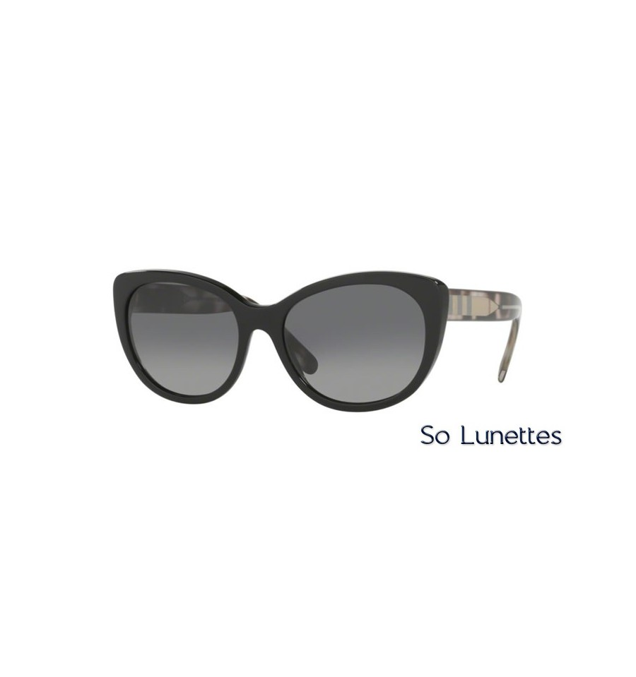 f755807bddc4 Lunette de soleil Burberry Femme 0BE4224 3001T3 monture Noir verres ...