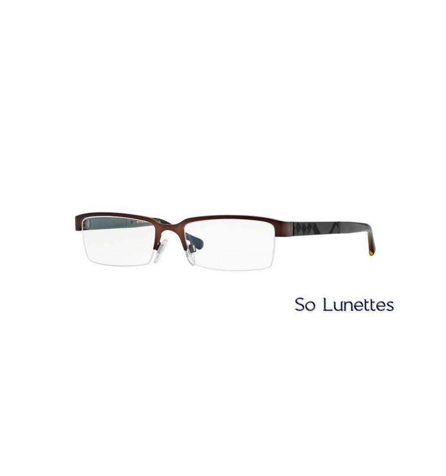 6b4cf24c4e2173 Lunette de vue Burberry Homme 0BE1267 1012 monture Marron
