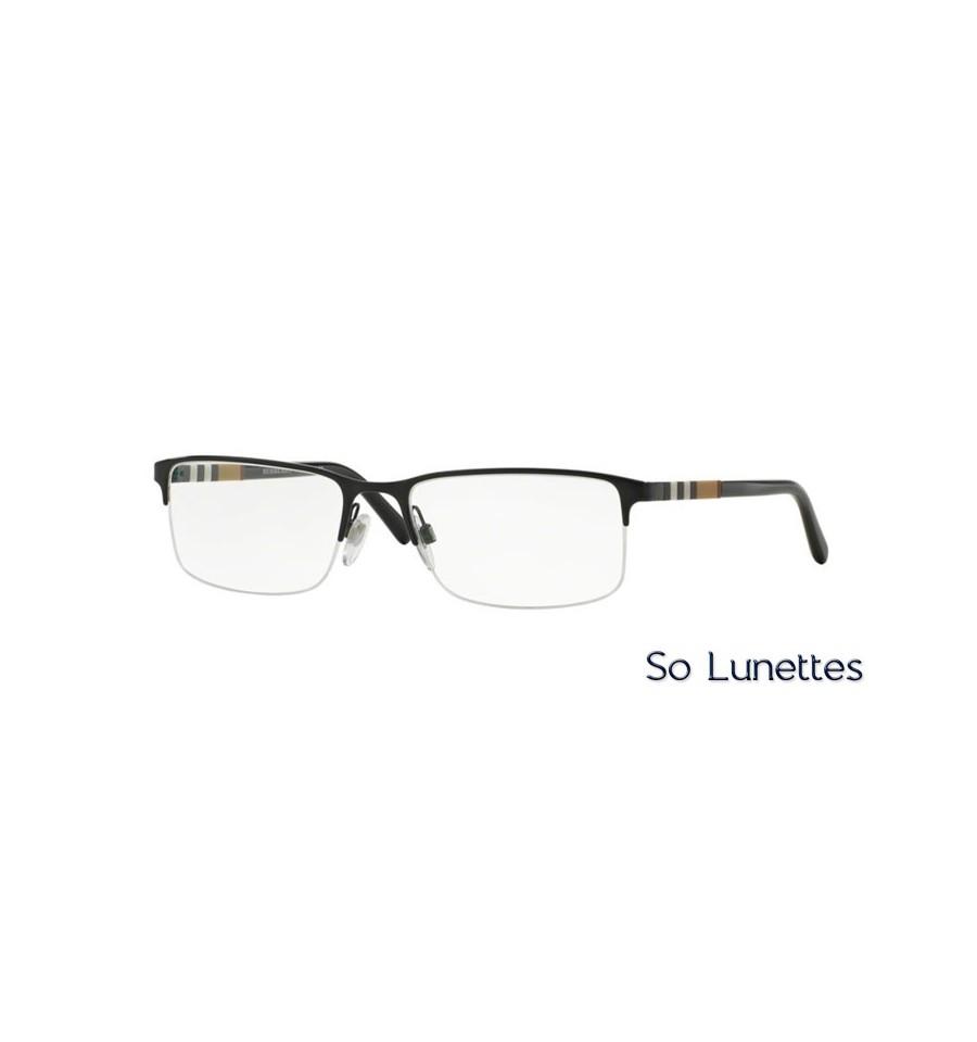 Lunette de vue Burberry Homme 0BE1282 1001 monture Noir 1a1406e723fd