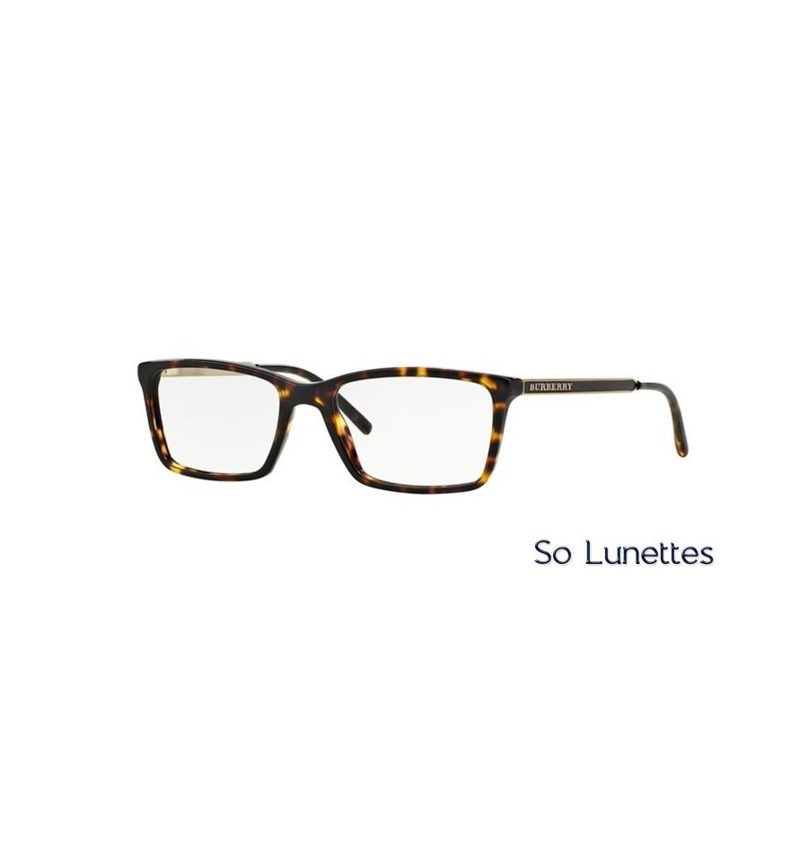 Lunette de vue Burberry Homme 0BE2126 3002 monture Ecaille bfc26bf34e49