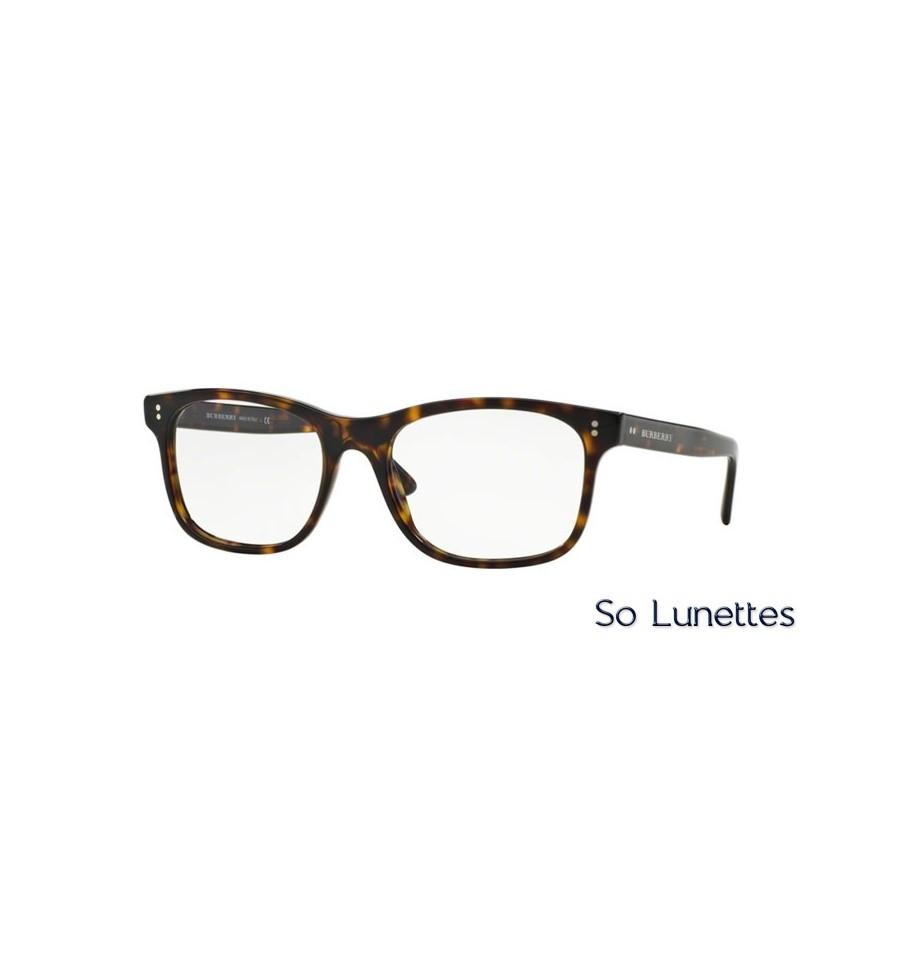 b72285ce638818 Lunette de vue Burberry Homme 0BE2196 3002 monture Ecaille