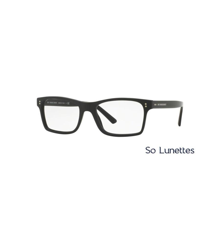 Lunette de vue Burberry Homme 0BE2222 3594 monture Noir ce620d6f8309