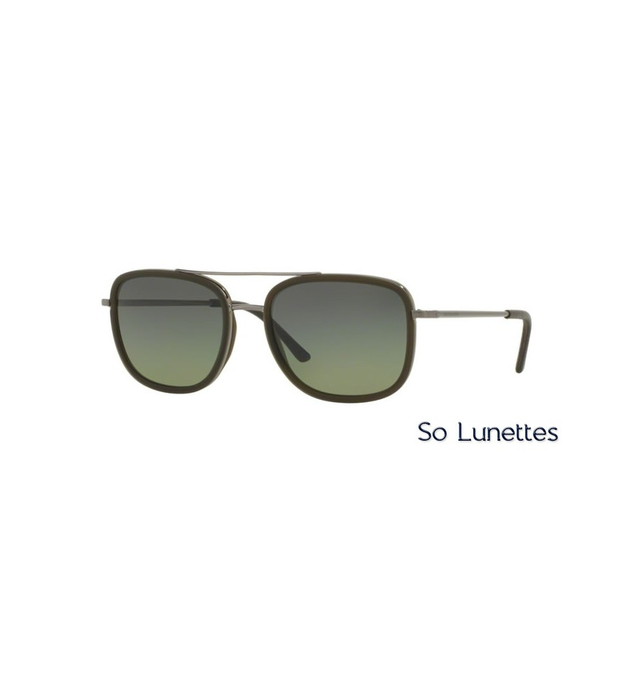 lunette de soleil burberry homme 0be3085q 10083y monture gunmetal verres vert. Black Bedroom Furniture Sets. Home Design Ideas