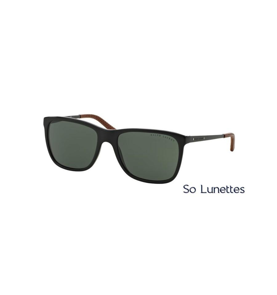 dd8d4ed5ccdbf8 Lunette de soleil Ralph Lauren Homme 0RL8133Q 500171 monture Noir ...