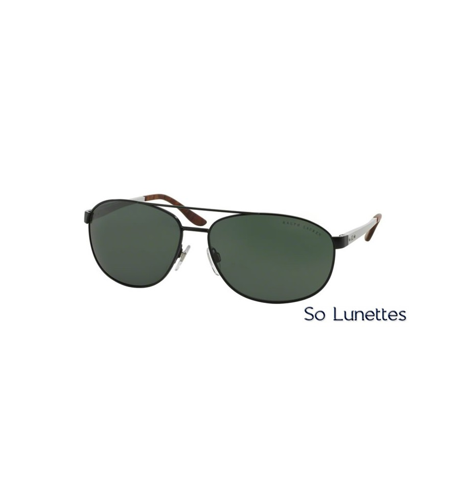 lunette de soleil ralph lauren homme 0rl7048 928171 monture noir verres vert. Black Bedroom Furniture Sets. Home Design Ideas