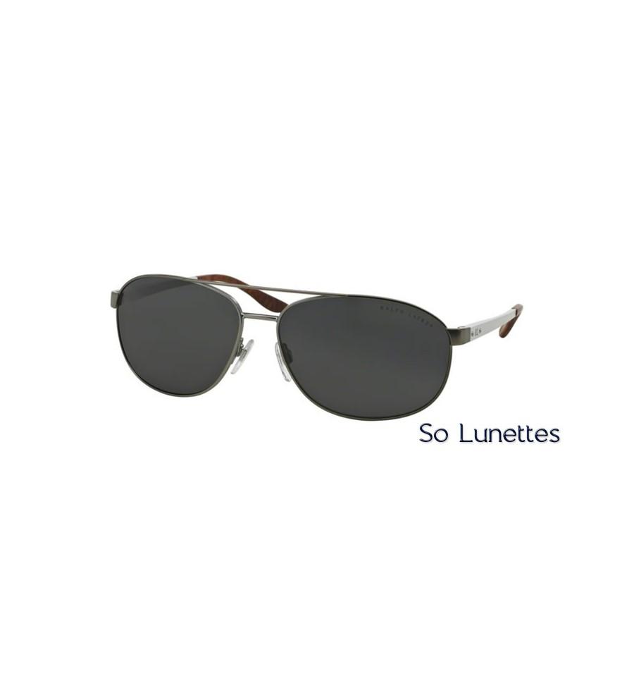 lunette de soleil ralph lauren homme 0rl7048 928287 monture gris verres gris. Black Bedroom Furniture Sets. Home Design Ideas