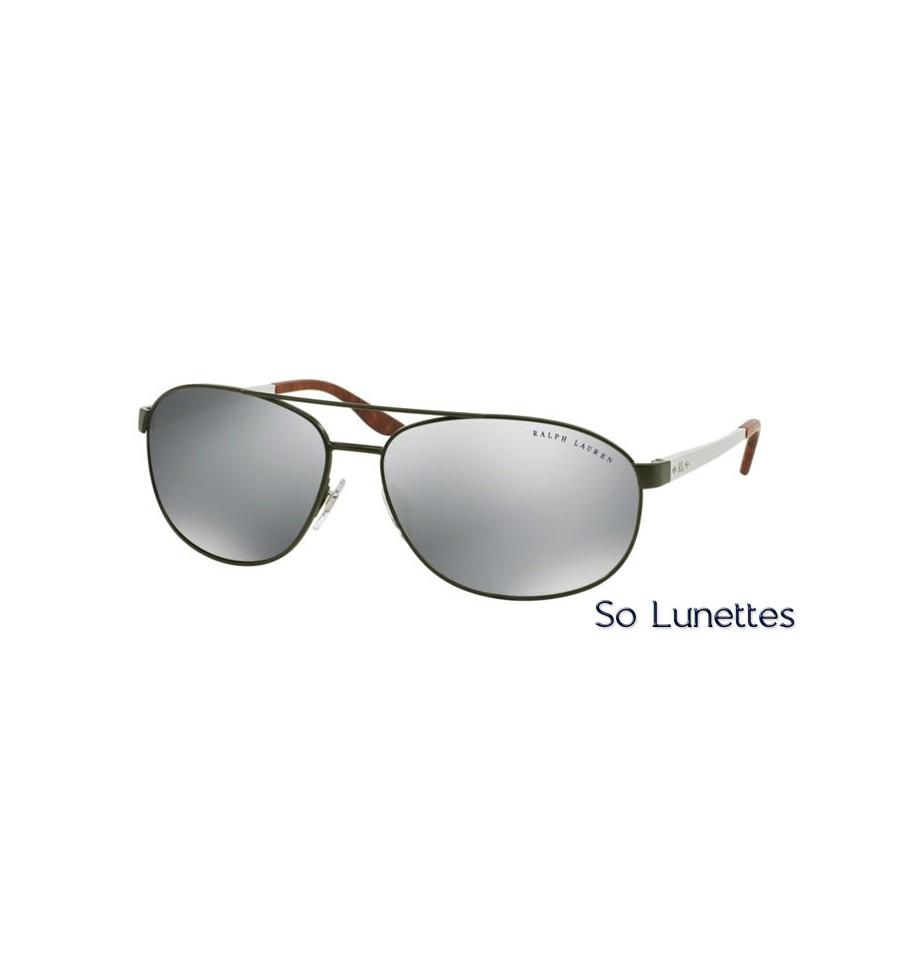 lunette de soleil ralph lauren homme 0rl7048 92836g monture vert verres gris. Black Bedroom Furniture Sets. Home Design Ideas