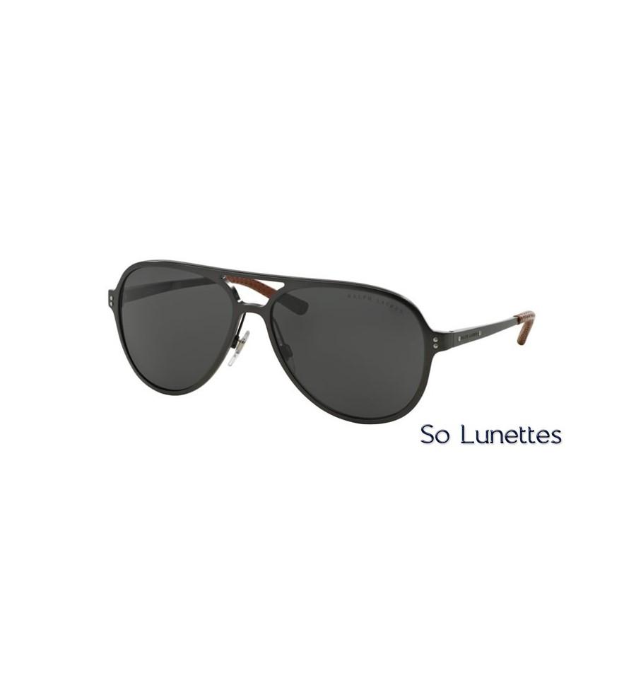 lunette de soleil ralph lauren homme 0rl7049q 929487 monture gunmetal verres gris. Black Bedroom Furniture Sets. Home Design Ideas