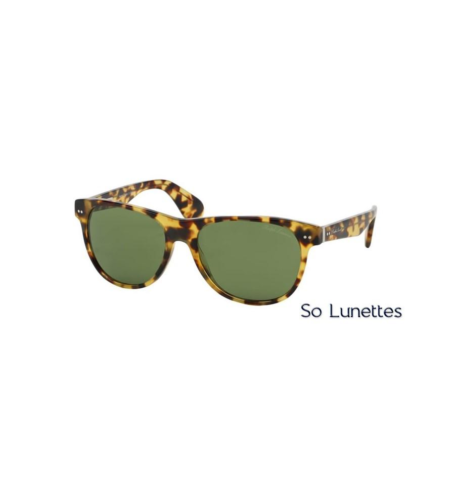 lunette de soleil ralph lauren homme 0rl8129p 500452 monture ecaille verres vert. Black Bedroom Furniture Sets. Home Design Ideas