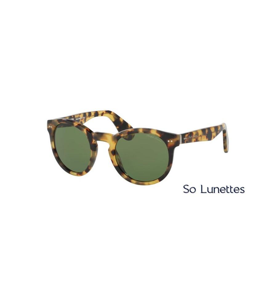 lunette de soleil ralph lauren homme 0rl8146p 500452 monture ecaille verres vert. Black Bedroom Furniture Sets. Home Design Ideas
