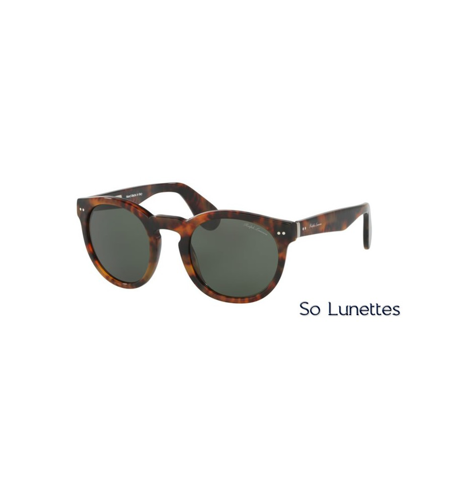 lunette de soleil ralph lauren homme 0rl8146p 501752 monture ecaille verres vert. Black Bedroom Furniture Sets. Home Design Ideas