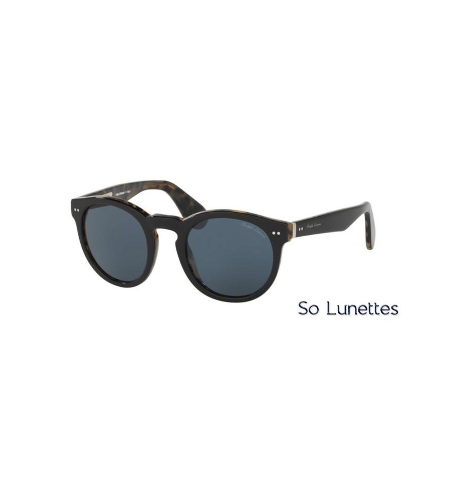 0ae393dba95 Lunette de soleil Ralph Lauren Homme 0RL8146P 5613R5 monture Noir ...