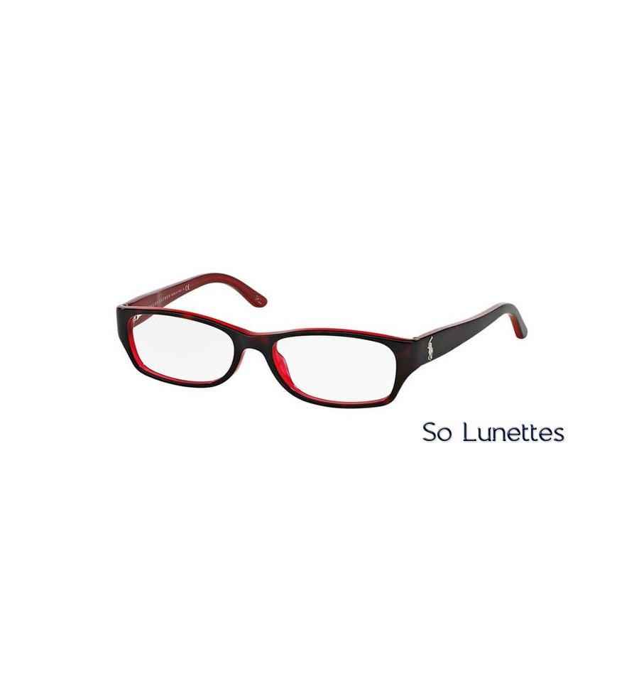 e17bb91e2c45a4 Lunette de vue Ralph Lauren 0RL6058 5255 Rouge